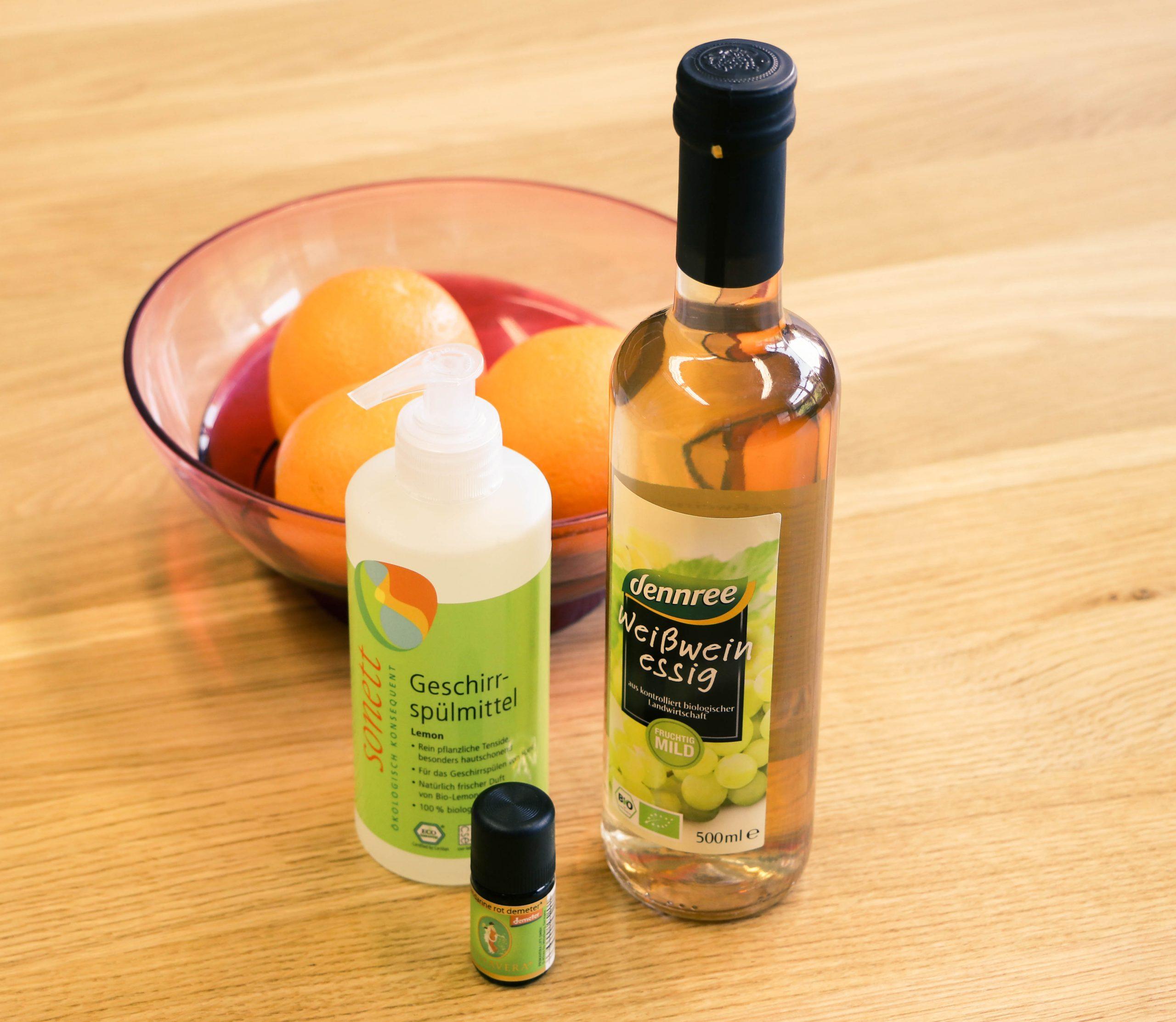 Orangen-Essig-Reiniger selber machen