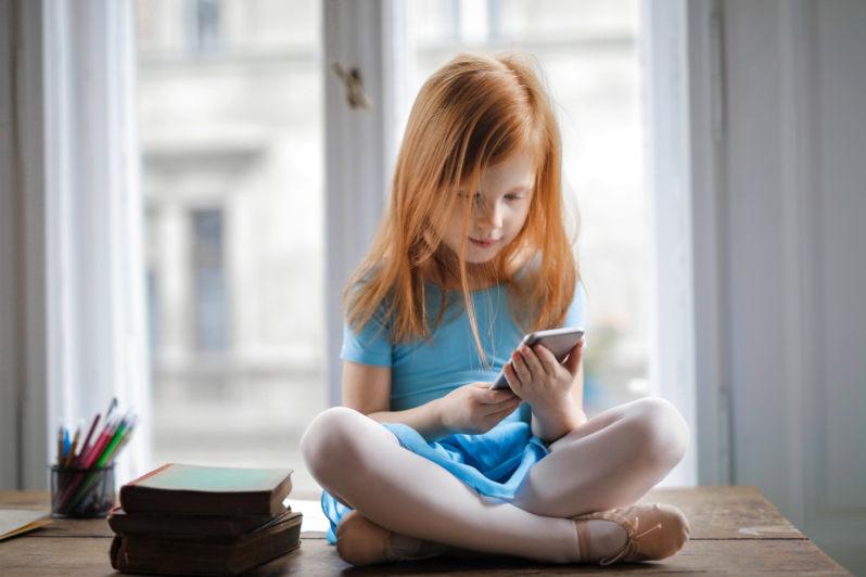 Kinder Meditation Konzentration