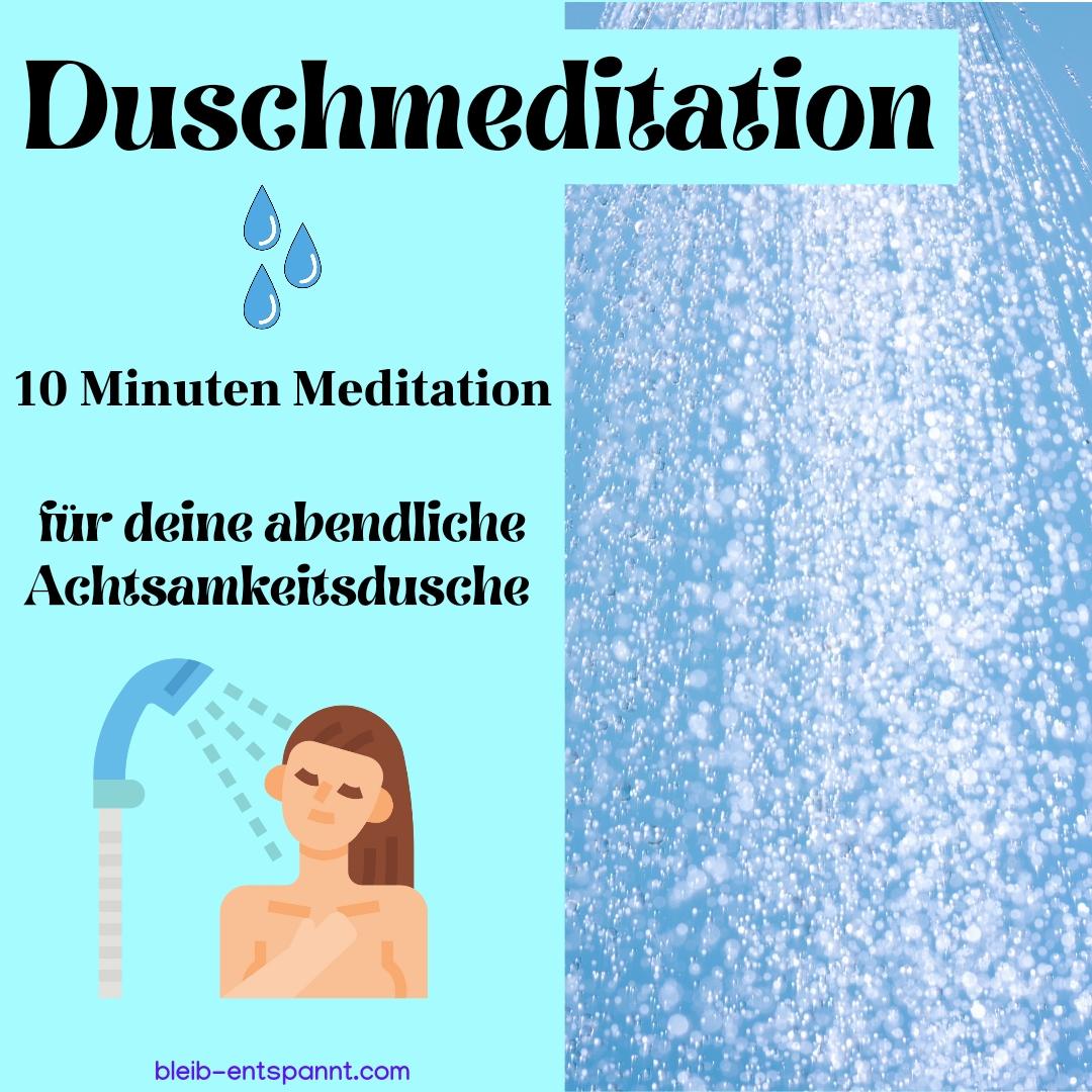 Duschmeditation